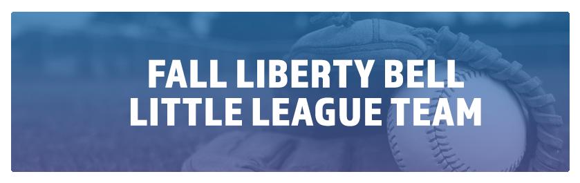 Fall Liberty Bell – Little League Team